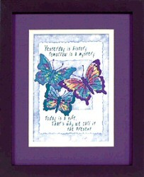 Today is a Gift -  Cross Stitch Kit