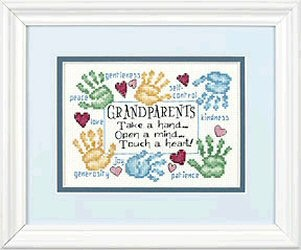Dimensions Grandparents Touch A Heart