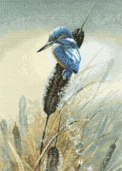 Little Fisher - Aida -  Cross Stitch Kit