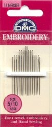 Embroidery Needles Size 5-10
