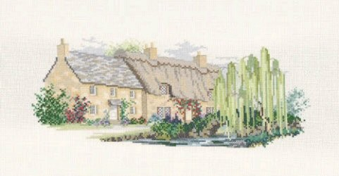 Derwentwater Designs Willowbrook Lane Cross Stitch Kit