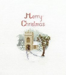 The Church -  Christmas Cross Stitch Kit