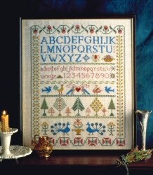 Victorian Sampler -  Cross Stitch Kit