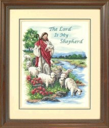 The Lord is My Shepherd -  Cross Stitch Kit