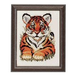 Tiger Cub -  Cross Stitch Kit