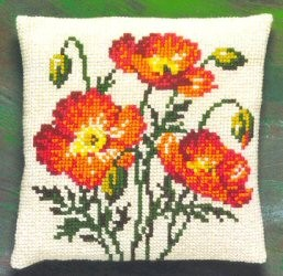 Poppies -  Cross Stitch Kit
