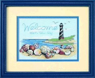 Welcome Each New Day -  Cross Stitch Kit