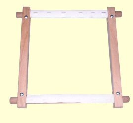 Hand Rotating Tapestry Frame 40 x 12 inches