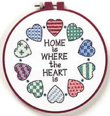 Home and Heart -  Cross Stitch Kit