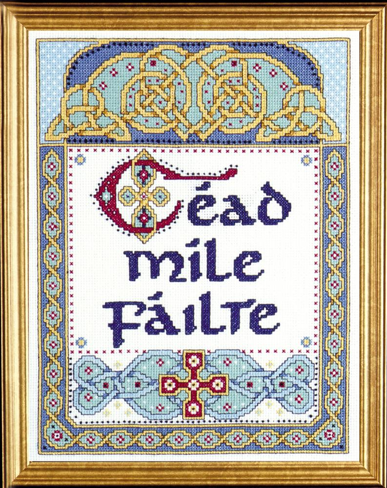 Design Works Crafts One Hundred Thousand Welcomes Cross Stitch Kit