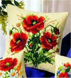 Vervaco Poppies Cross Stitch Kit