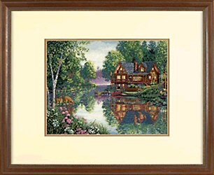 Dimensions Cabin Fever Cross Stitch Kit