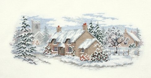 Holly Lane -  Christmas Cross Stitch Kit