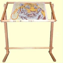 Roller Floor Tapestry Frame 36 inches