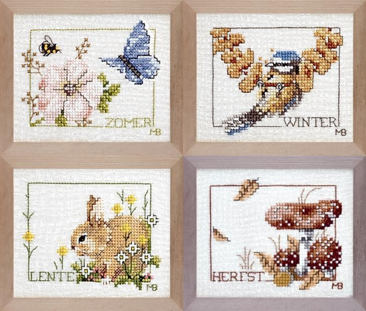 Four Seasons -  Cross Stitch Kit