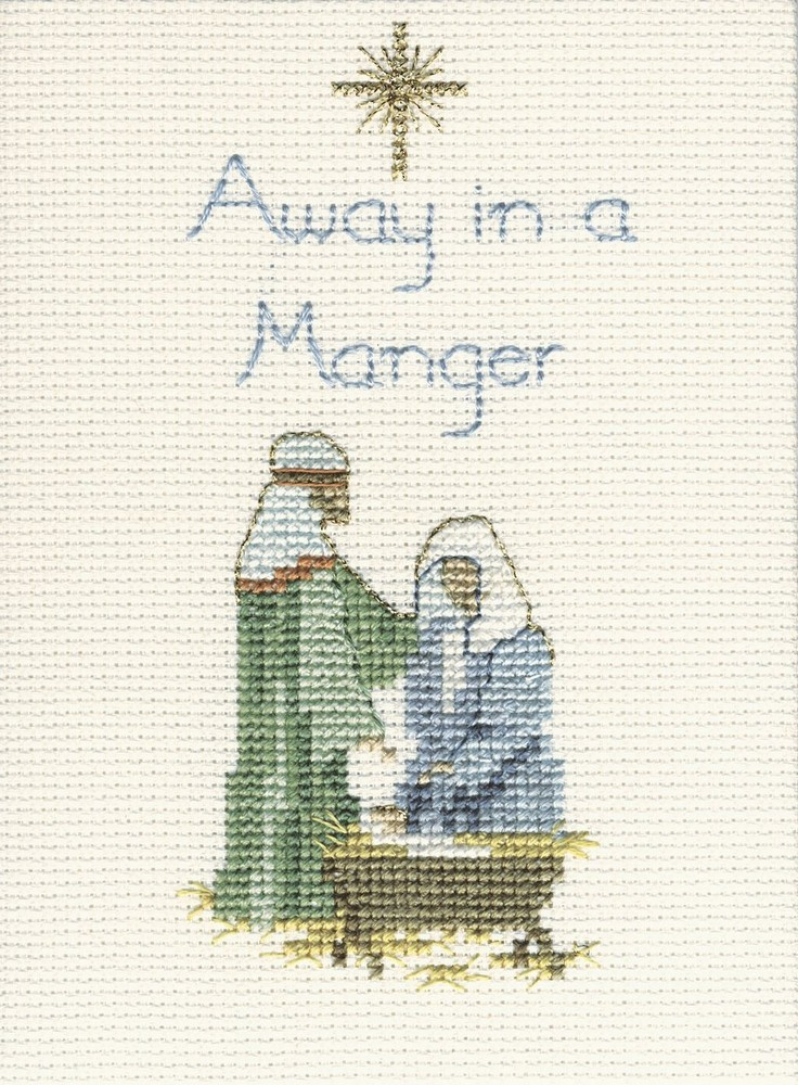 Away in a Manger -  Christmas Cross Stitch Kit