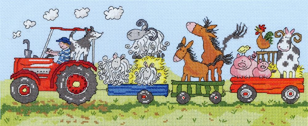 Bothy Threads Old McDonald Cross Stitch Kit
