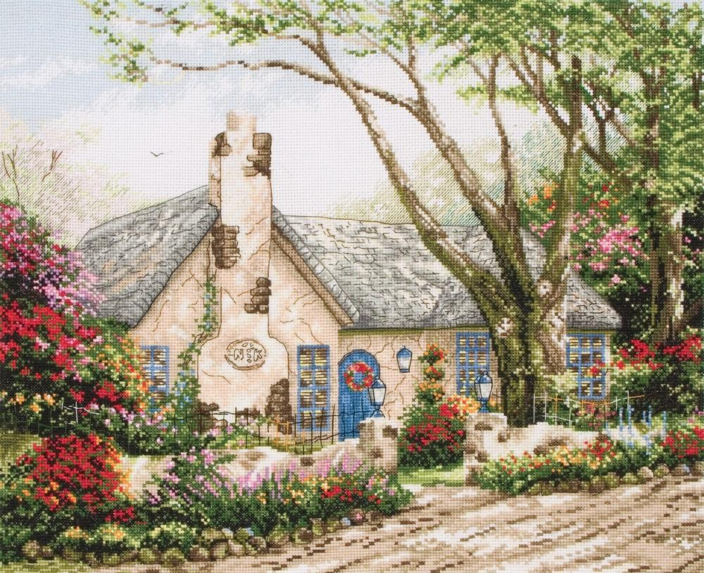 Maia Morning Glory Cottage Cross Stitch Kit