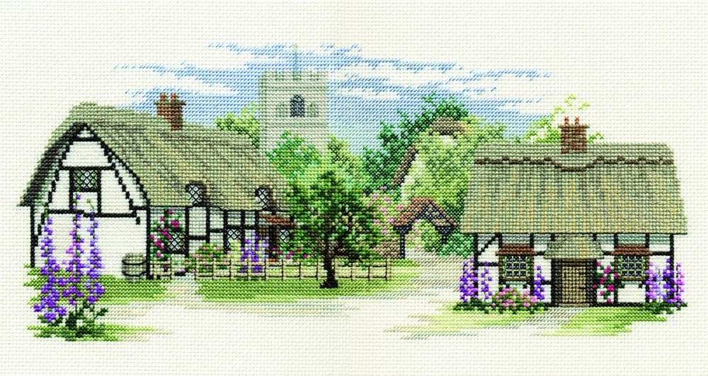 Foxglove Lane -  Cross Stitch Kit