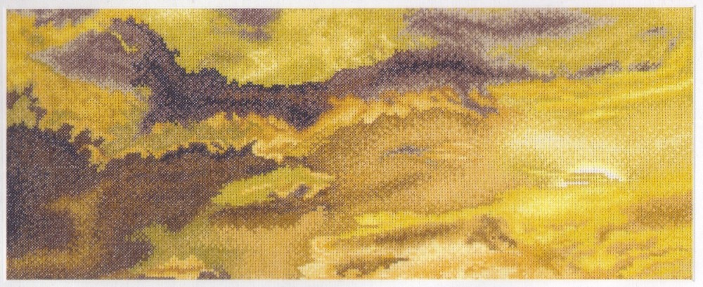 Thea Gouverneur Stormy Skies Cross Stitch Kit