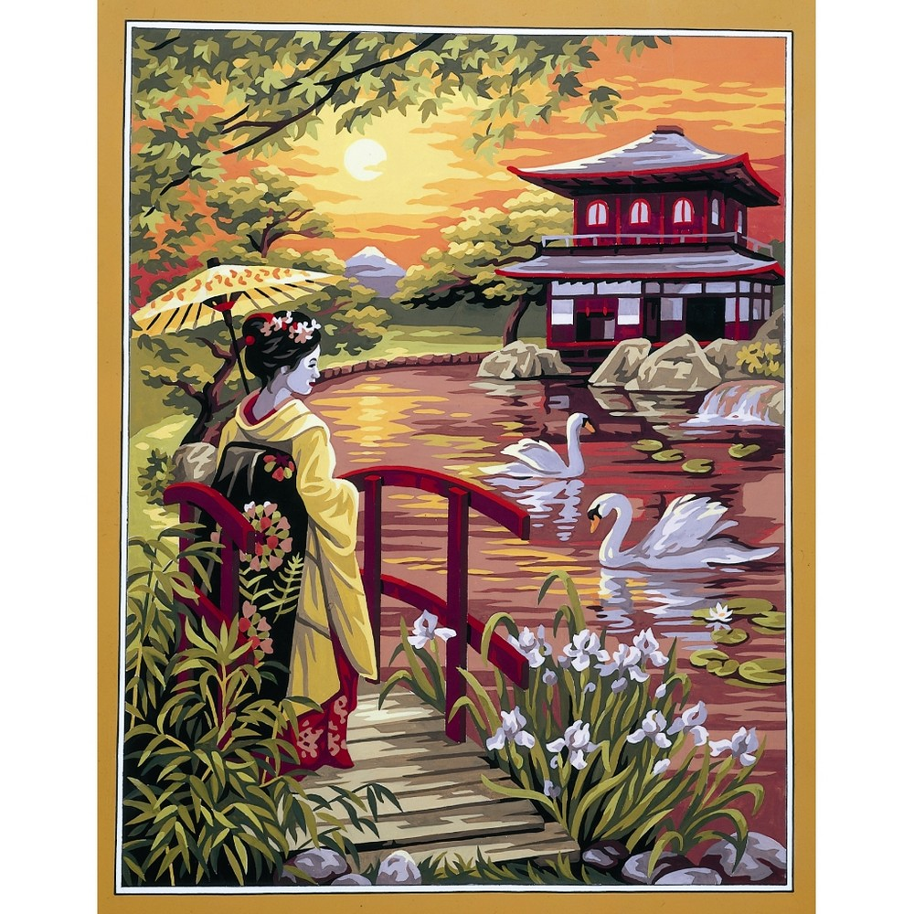 Royal Paris Fuji-Yama Tapestry Canvas