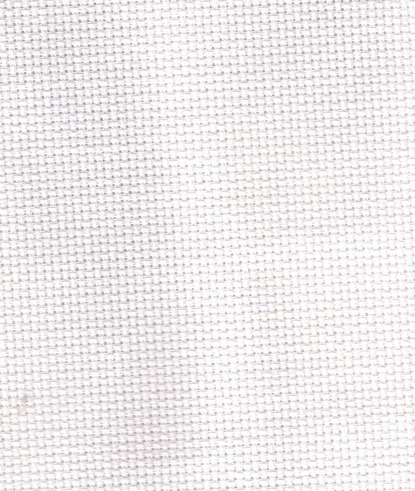 Zweigart Aida Metre - 18 count - 101 Antique White (3793) Fabric