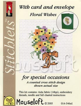 Floral Wishes -  Cross Stitch Kit