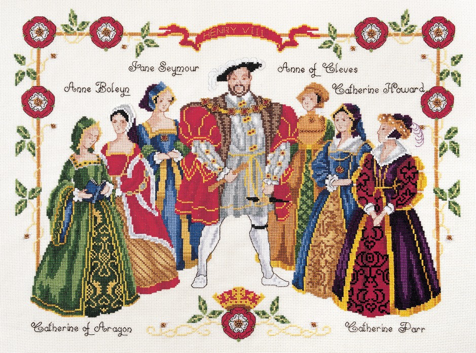 Henry the Eighth -  Cross Stitch Kit