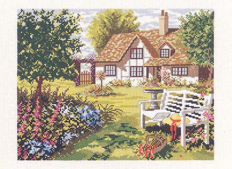A Peaceful Spot -  Cross Stitch Kit