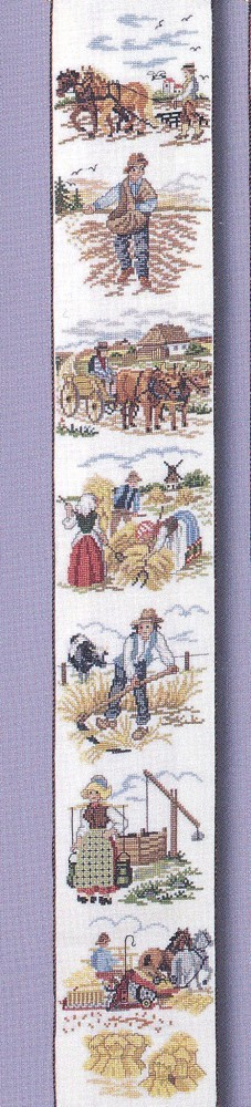 Eva Rosenstand Traditional Farming Bellpull Cross Stitch Kit