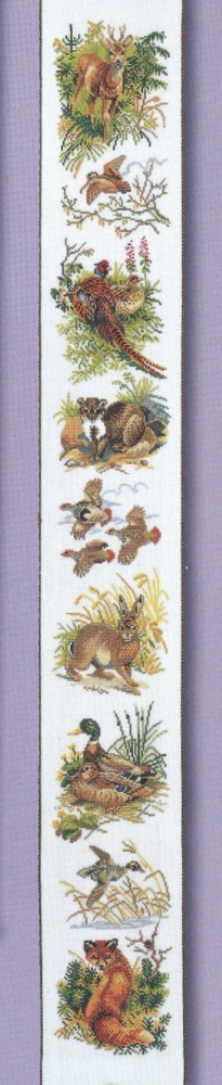 Countryside Bellpull - Aida -  Cross Stitch Kit