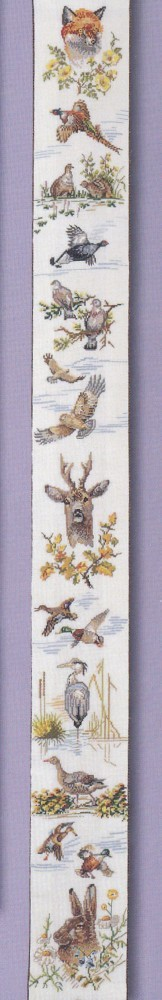 Marshland Bellpull -  Cross Stitch Kit