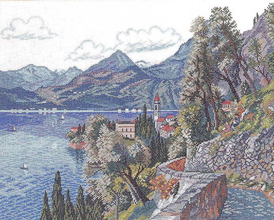 Clifftop Path -  Cross Stitch Kit