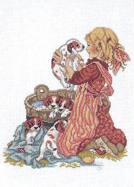 Bath Time -  Cross Stitch Kit