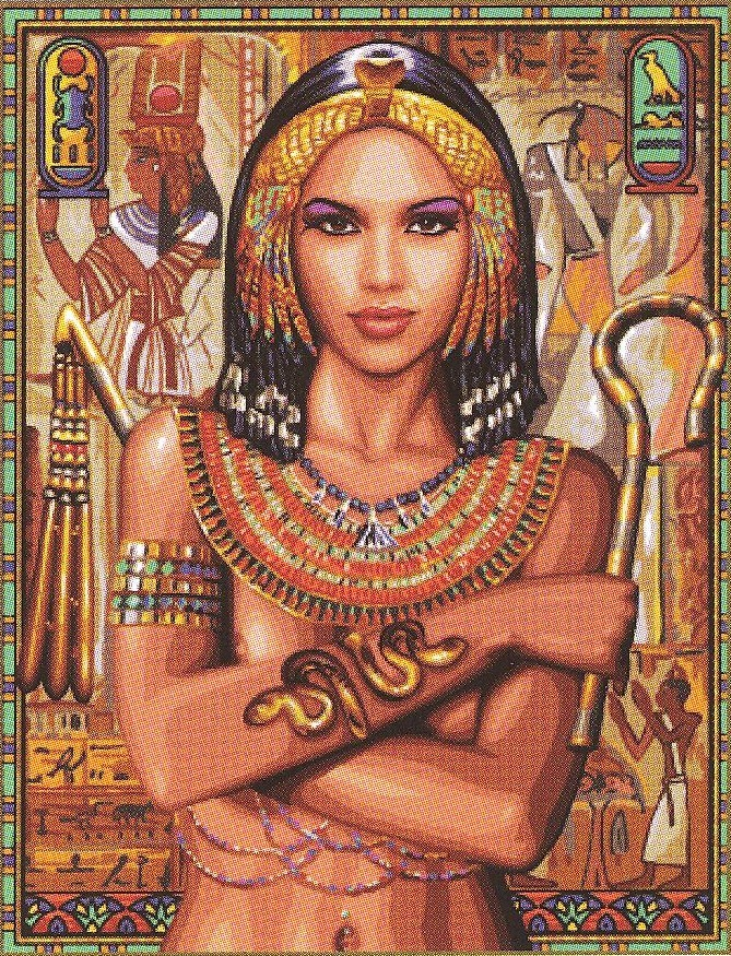 Royal Paris Egyptian Princess Tapestry Canvas
