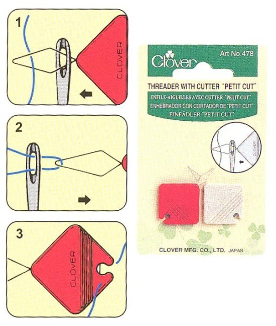 Threader with Cutter Twin Pack