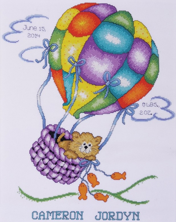Up, Up and Away -  Cross Stitch Kit