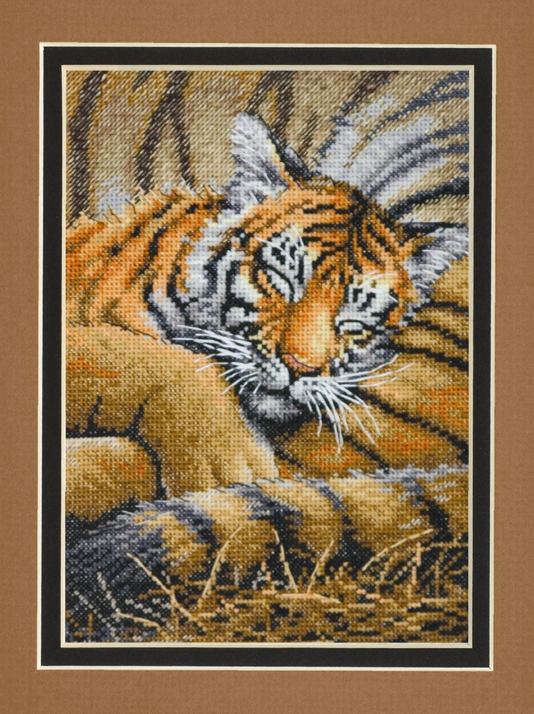 Dimensions Cozy Cub Cross Stitch Kit