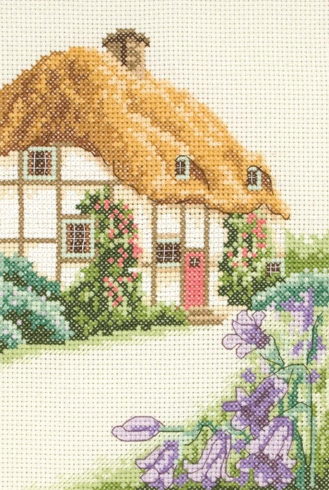 Anchor Thatched Cottage Cross Stitch Kit