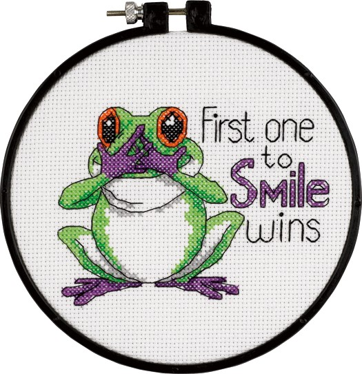 First One To Smile -  Cross Stitch Kit