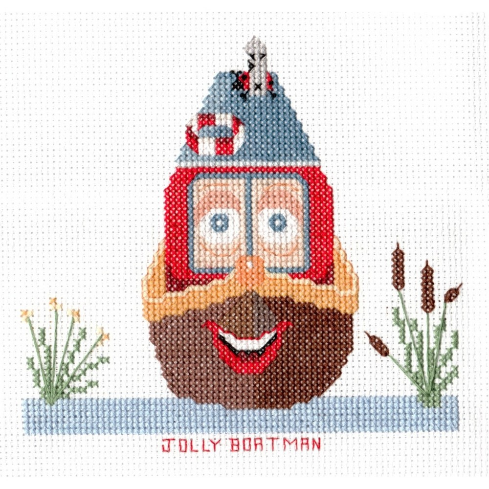 Abacus Designs Jolly Boatman Cross Stitch Kit
