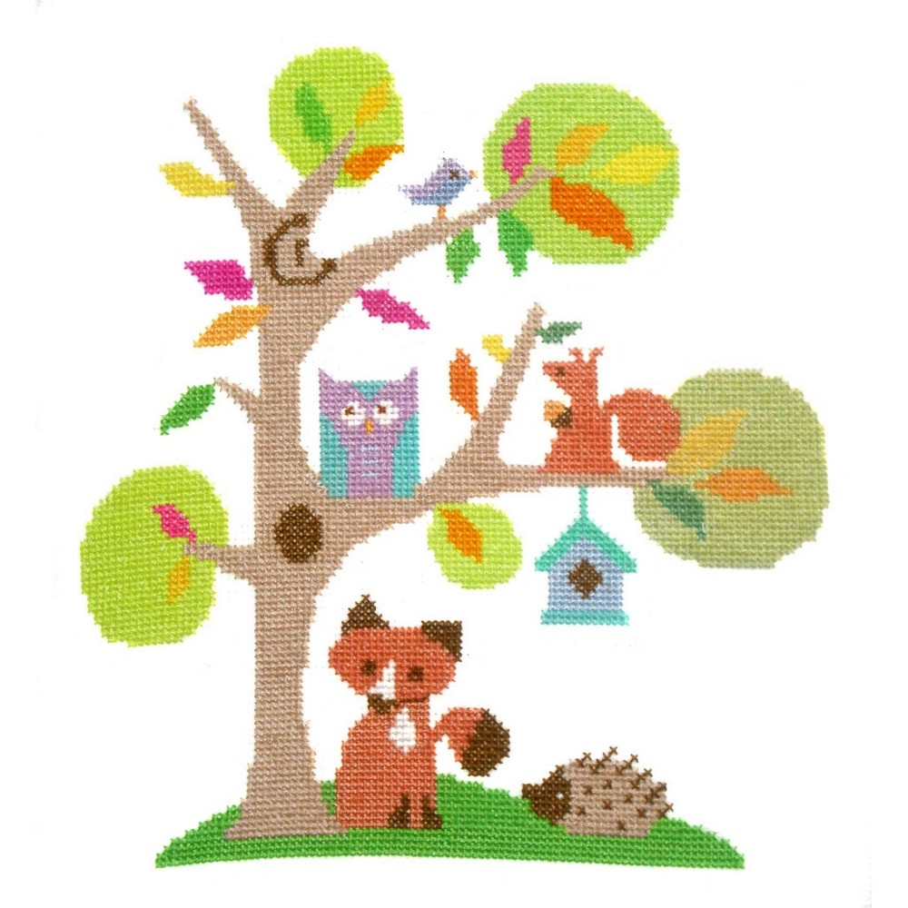 Woodland -  Cross Stitch Kit