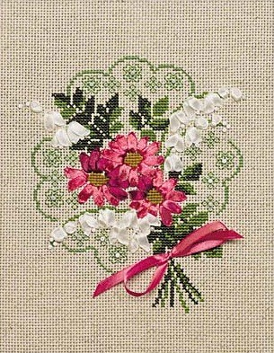 Bouquet of Love -  Cross Stitch Kit
