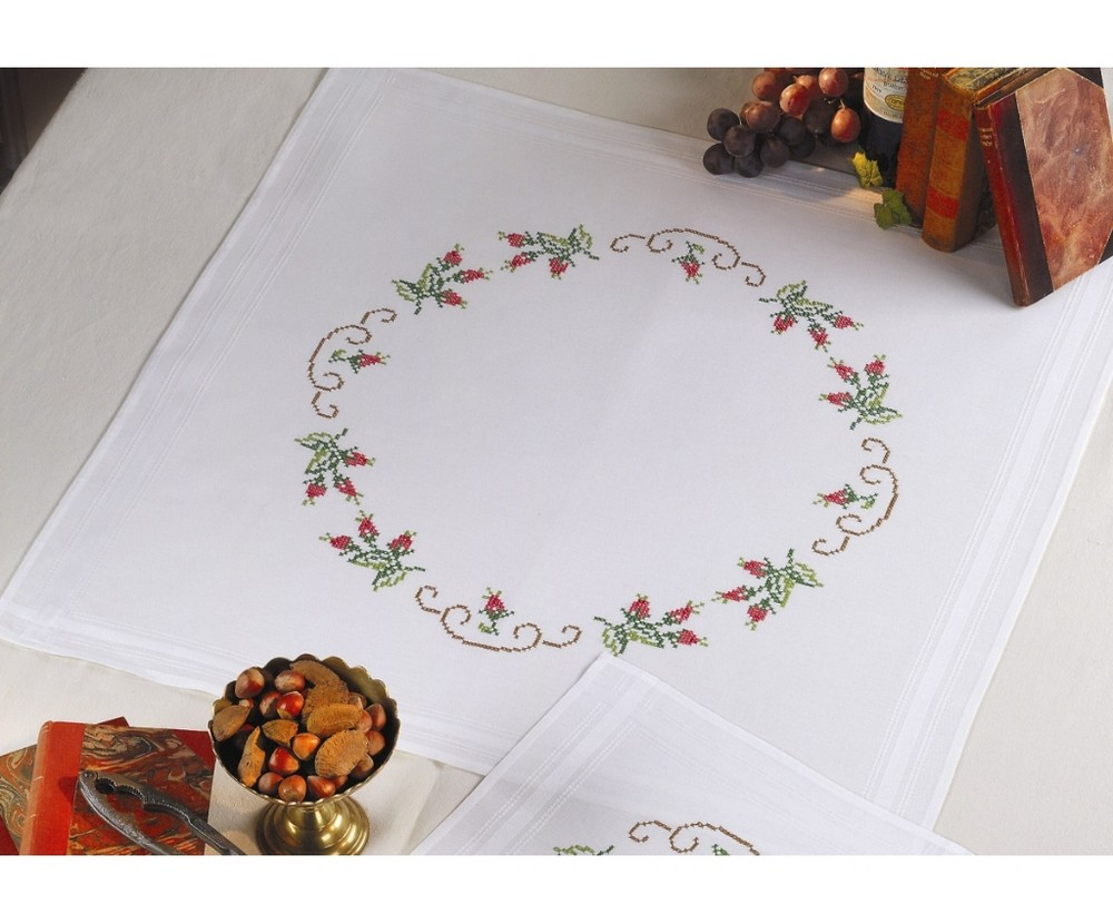 Raddish Tablecloth -  Cross Stitch Kit