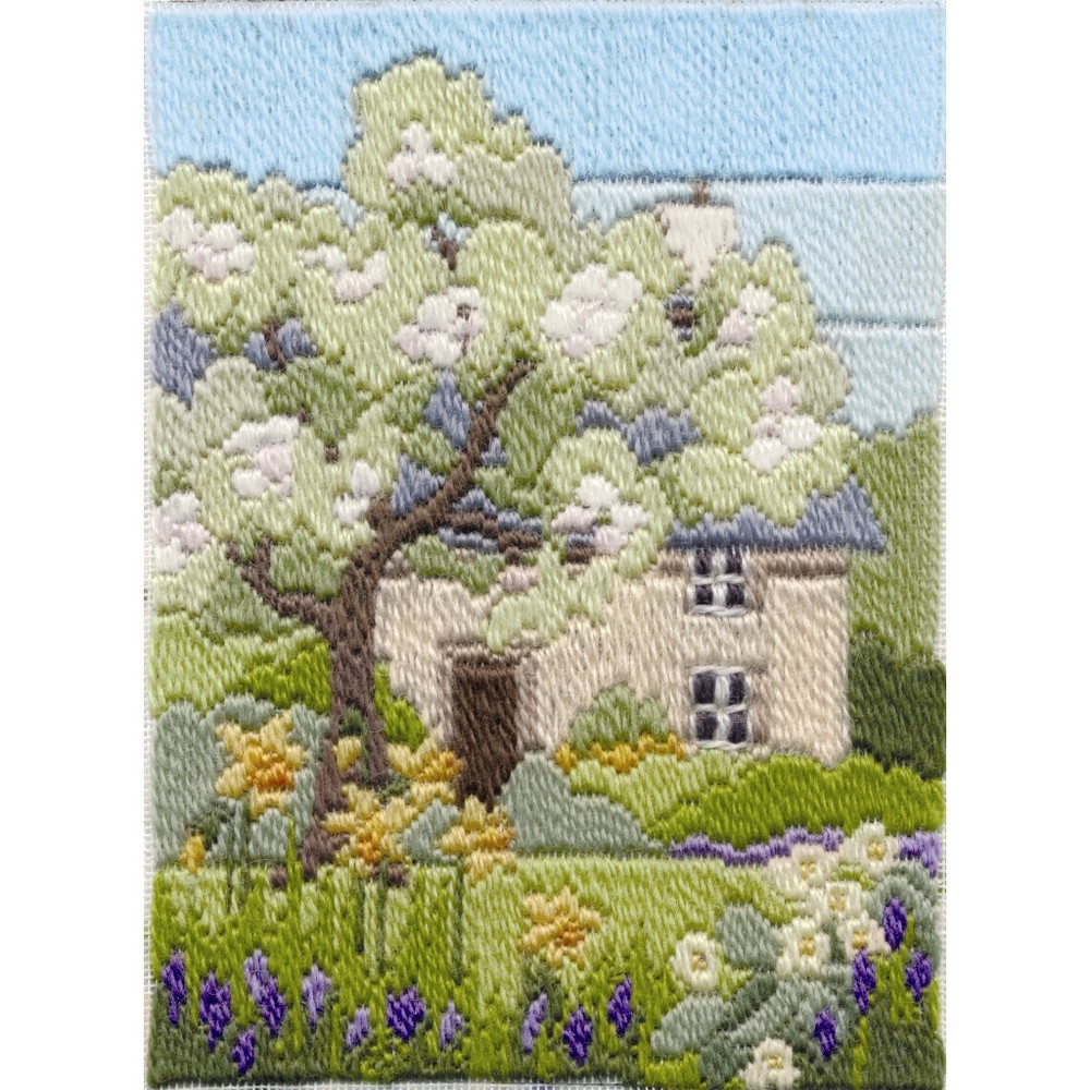 Derwentwater Designs Spring Garden Long Stitch Kit