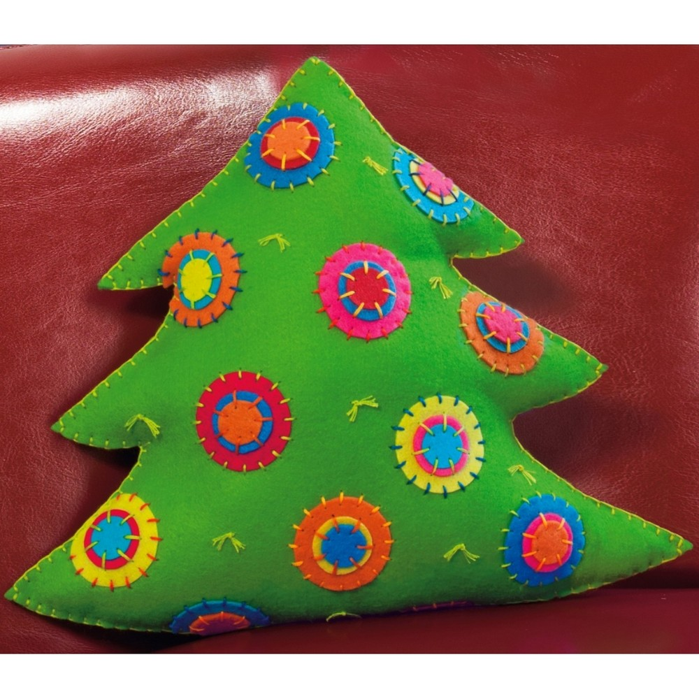 Dimensions Colourful Tree Cushion Craft Kit