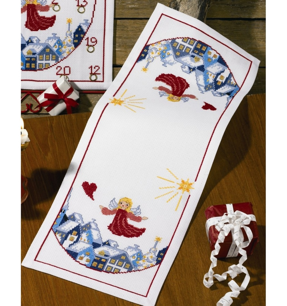 Angels Runner -  Christmas Cross Stitch Kit
