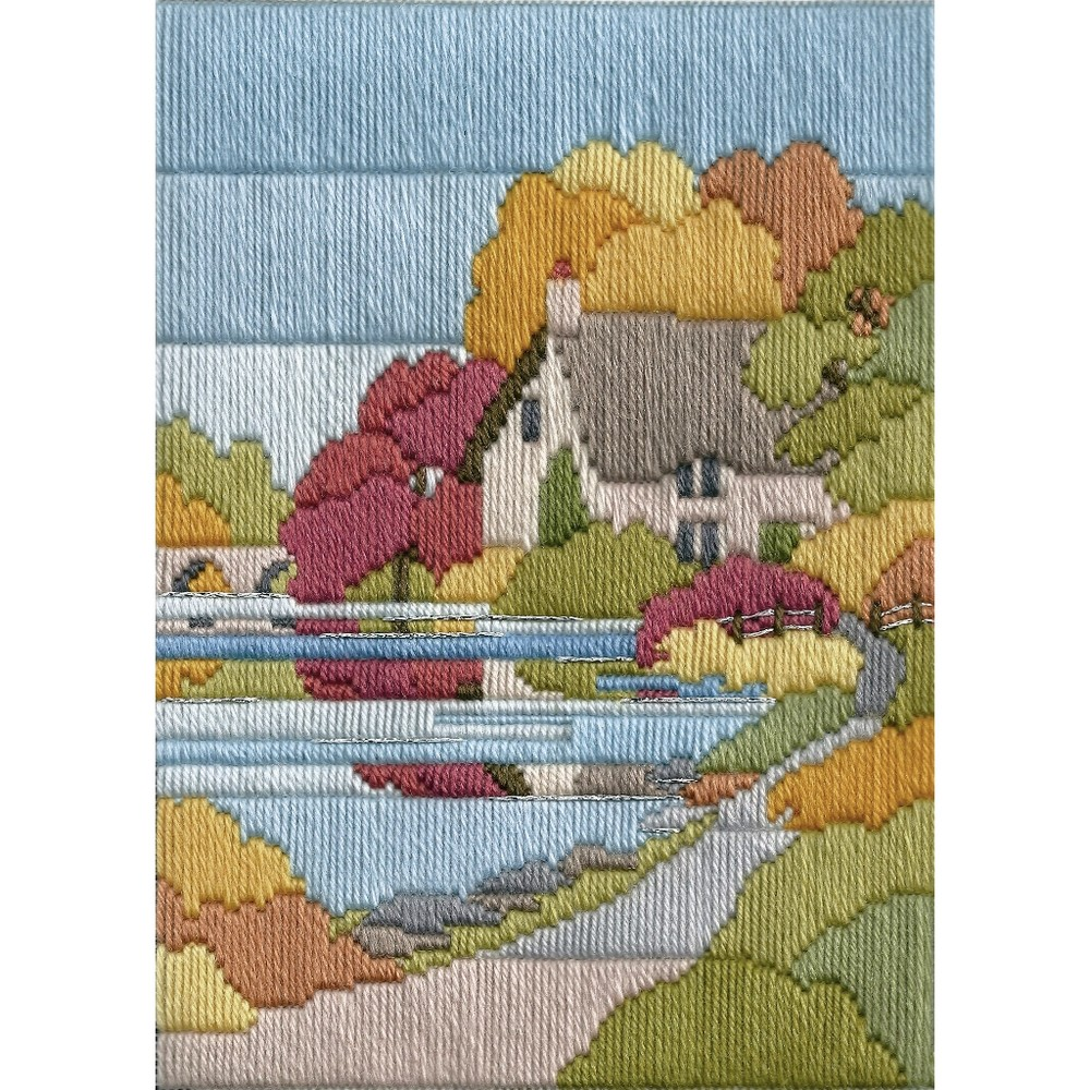 Derwentwater Designs Autumn Walk Long Stitch Kit