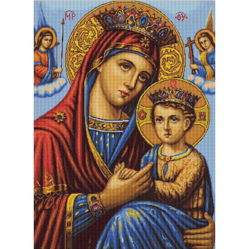 Mother and Son -  Cross Stitch Kit