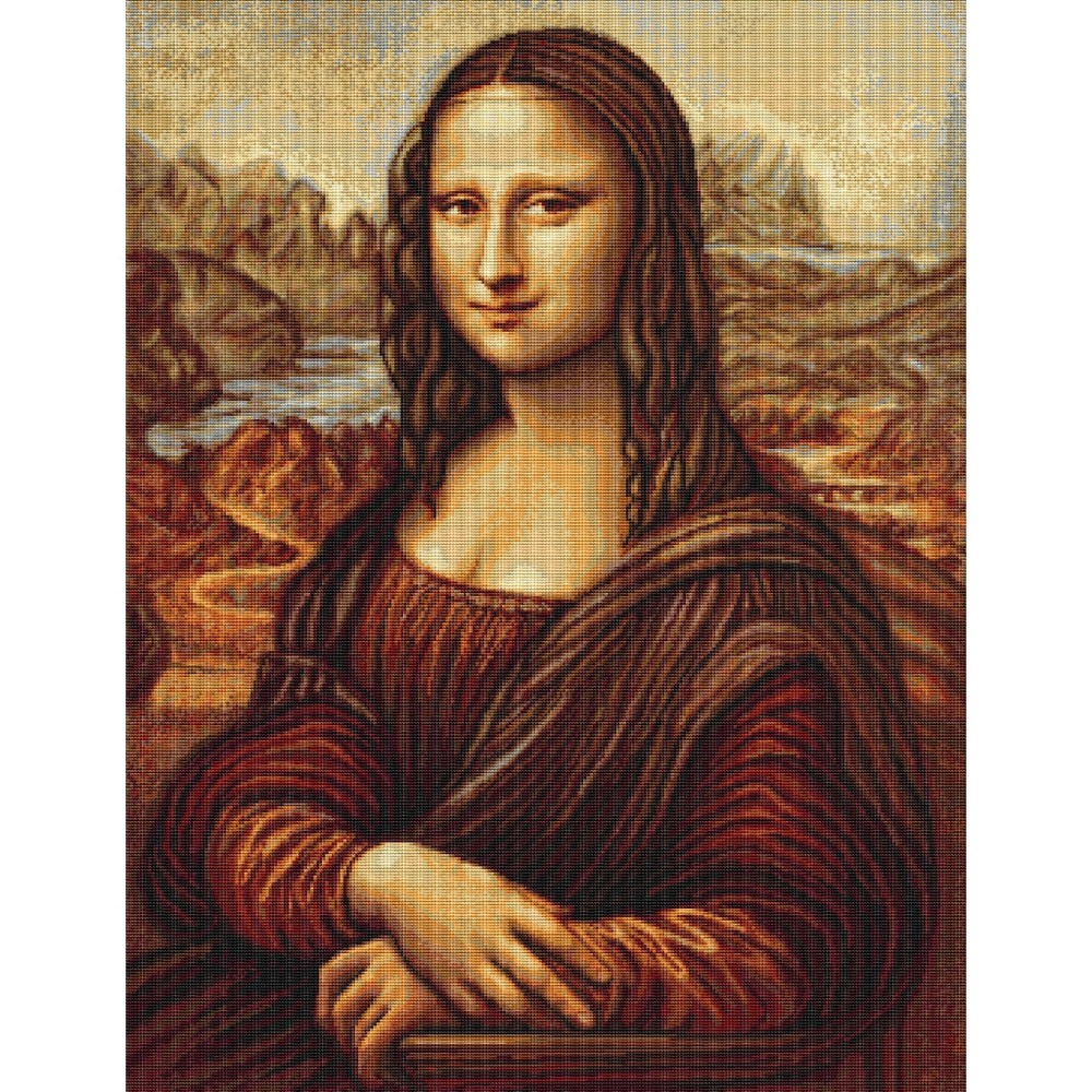 Luca-S Mona Lisa Cross Stitch Kit
